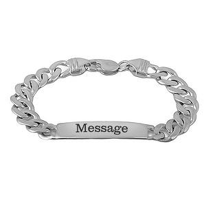 Men S Bracelet Sterling Silver 732541000245068 Kay